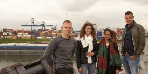 Logistics Engineering studenten Rotterdam